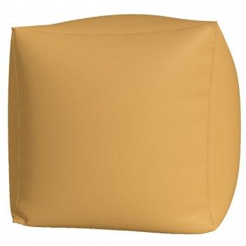 Пуфик куб макси, ткань нейлон, цвет бежевый