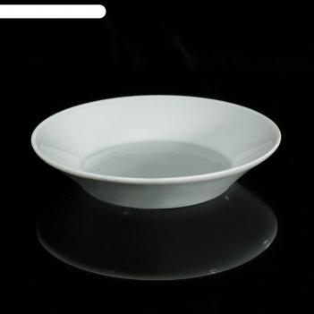 Блюдце «бельё», 160 мл, d=14 см, цвет белый
