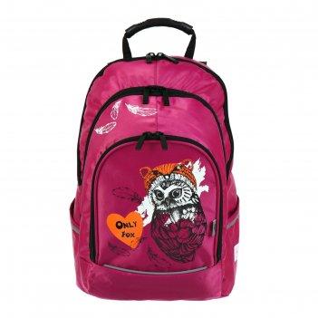 Рюкзак молодёжный с эргономичной спинкой luris спринт 420 д, 42 х 28 х 20,