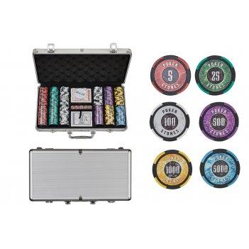 Набор для покера stones на 300 фишек