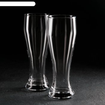Набор бокалов для пива 2 шт 665 мл pub