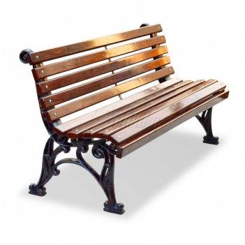 Скамейка чугунная «классика» 1,5 м