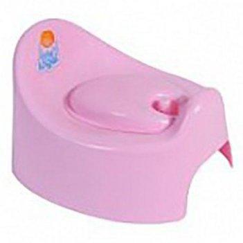 Горшок детский с крышкой розовый 2701la-rs