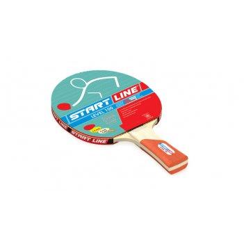 Ракетка level 100 для настольного тенниса, коническая рукоятка