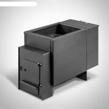 Печь банная см-12б-4мм, бак из стали 25л