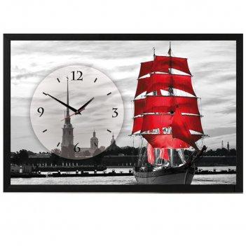 Настенные часы-картины династия алые паруса 2