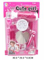 Набор парикмахерских инструментов cute girl.