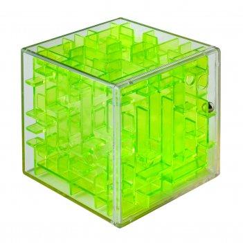 Лабиринтус куб 6см, зелёный
