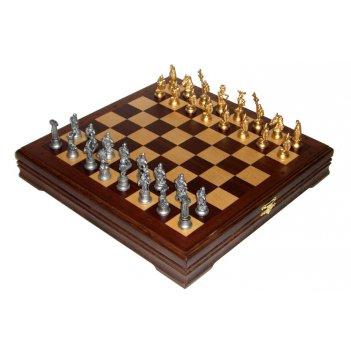 Rts-72 шахматы малые галлы-римляне черненые.