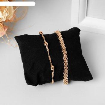 Подушка для украшений 8*8*3,5 см, цвет чёрный