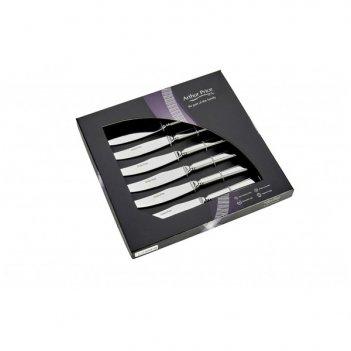 Набор из 6 ножей для стейка бид п/к