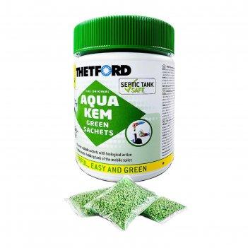 Порошок для биотуалета aqua kem green sachets (15 пакетиков/30гр)
