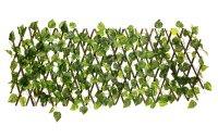 Декоративное ограждение листья 210x25 см