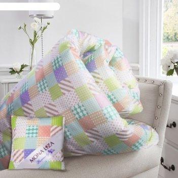 Одеяло jasmine, размер 195х215 см, + саше с ароматом жасмина, тик