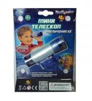 Телескоп мини, увеличение 6х, 6,3x2,3x7,7 см