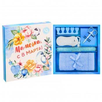 Подарочный набор для педикюра мамочка, с 8 марта!