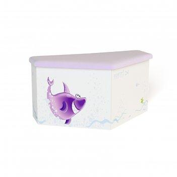 Ящик для игрушек нос pirates new, 970 x 500 x 470 мм, цвет белый