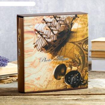 Фотоальбом на 100 фото 13х18 см мужское хобби в коробке микс 21х19х5,5 см