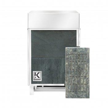 Электрическая печь karina elite 6, нержавеющая сталь, камень талькохлорит
