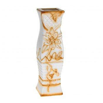 Ваза керамика напольная 60 см цветущая лилия