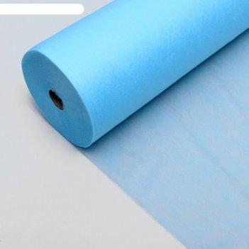 Простыни плотные 80*200 голубой 20 гр/м2