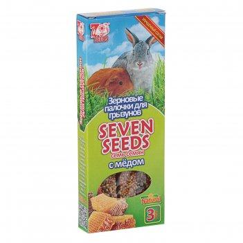 Палочки seven seeds для грызунов, медовые, 3 шт, 90 г