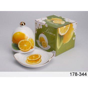 Лимонница с крышкой длина=12 см высота=11 см (кор-...