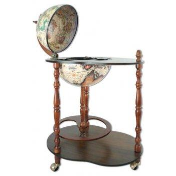 Te-car-33-sw глобус-бар столик напольный 42х56х88