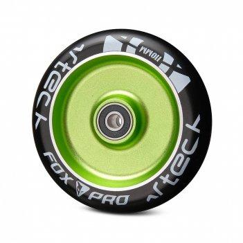 Колесо fox flat solid 110мм зеленый/черный