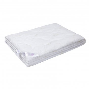 Одеяло лебяжий пух, размер 140х205 см, перкаль