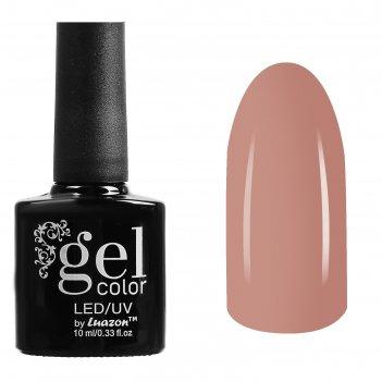 Гель-лак для ногтей трёхфазный led/uv, 10мл, цвет в1-025 светло-бежевый