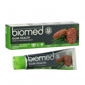 Зубная паста biomed gum health, 100 г