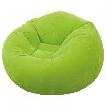 Кресло надувное, флок 107х104х69 см, от 6 лет
