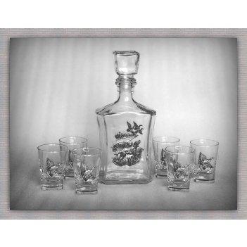 Набор для водки утиная охота  арт. ншт150уто-16