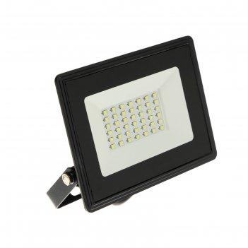 Прожектор светодиодный in home сдо-8, 30 вт, 230 в, 2850 лм, 6500 к, ip65,