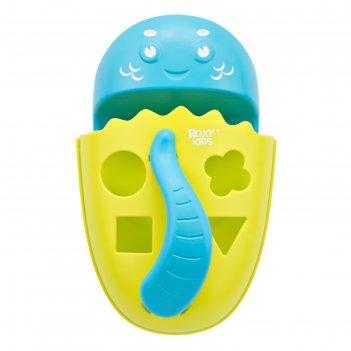 Органайзер-сортер dino с полкой для игрушек и банных принадлежностей, цвет