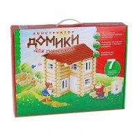 Игра-конструктор домик для гномика, 7 комбинаций, тип 3