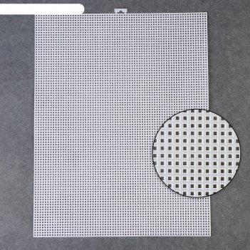 Канва для вышивания, 26 x 34 см, цвет белый