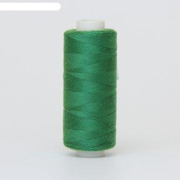 Нитка дор-так pl 40/2 400 ярд, цвет зелёный 564 к09