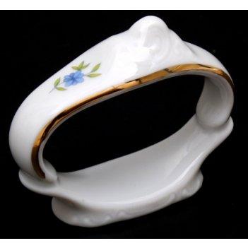 Кольцо для салфетки бернадот синий глаз