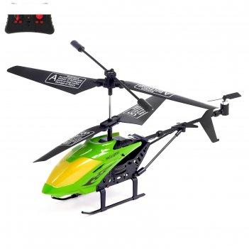 Вертолет радиоуправляемый эксперт, работает от аккумулятора, 3,5 канала, с