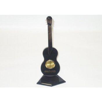 Часы на подставке в виде гитары 80x80x150 арт. ч-013