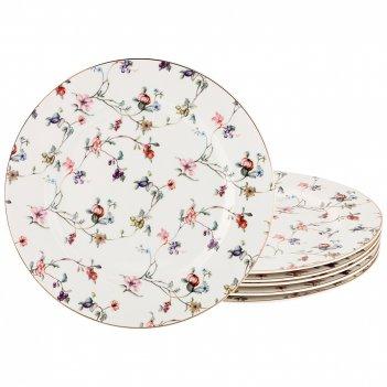 Набор тарелок вайлд, диаметр 27 см., 6 шт.