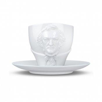 Пара чайная richard wagner, объем: 260 мл, материал: фарфор, цвет: белый,