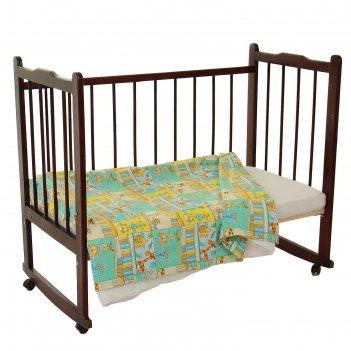 Пододеяльник детский, размер 147*112 см, цвет микс 6043