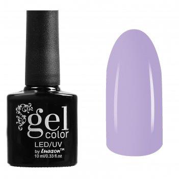 Гель-лак для ногтей трёхфазный led/uv, 10мл, цвет в2-026 светло-лавандовый