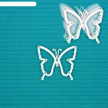Шейкер бабочка 8,4 х 7,3 см, набор 5 деталей
