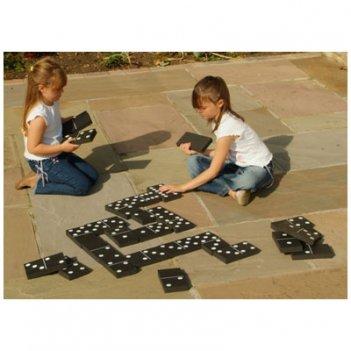033 гигантское домино traditional garden games