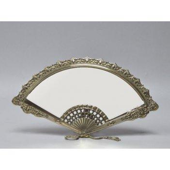Зеркало настольное веер