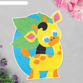 Фреска форменная хорошего настроения! жираф